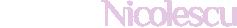 Monica Nicolescu Logo
